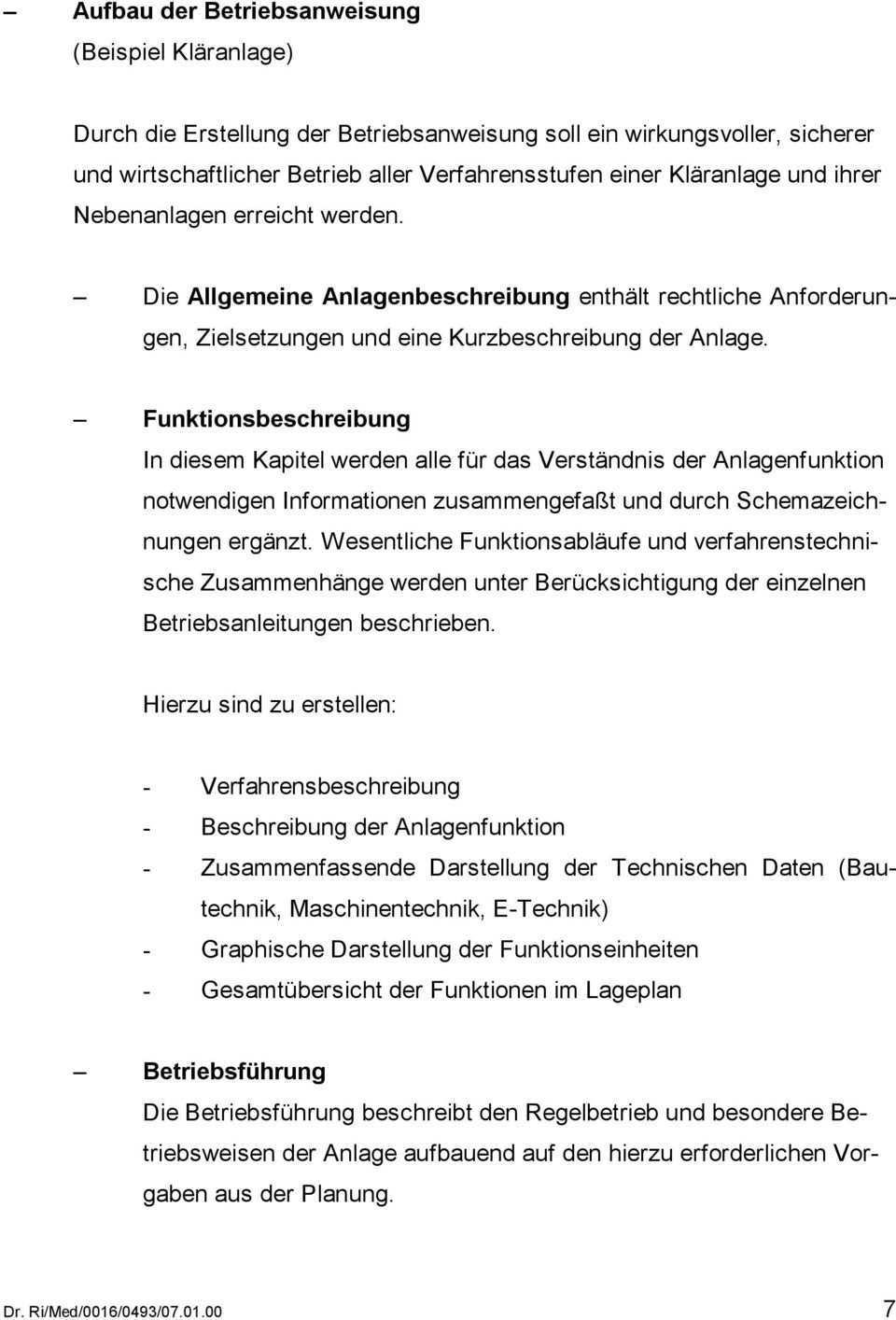 Dienst Und Betriebsanweisungen Fur Abwasserbetriebe Erfahrungsbericht Pdf Kostenfreier Download