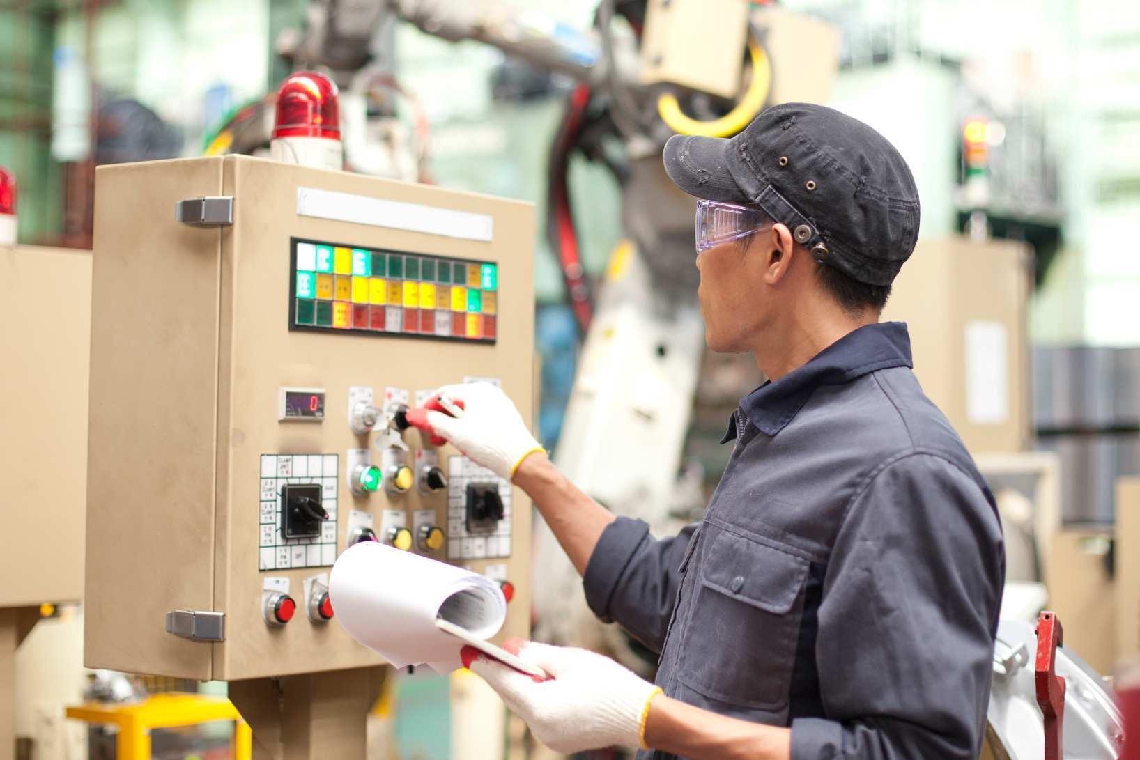 Sicherheit Bei Der Instandhaltung Von Maschinen
