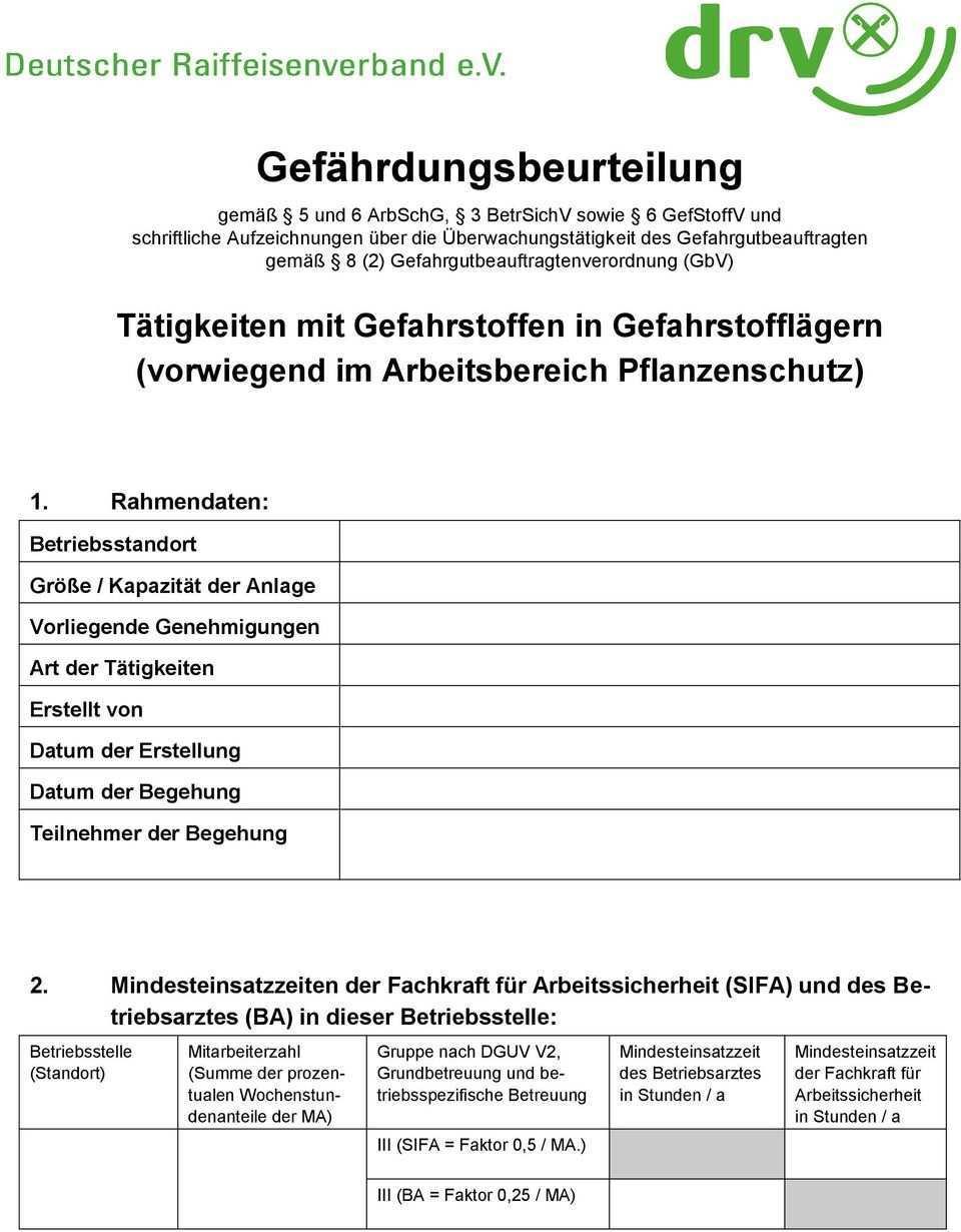 Muster Gefahrdungsbeurteilung Pdf Free Download