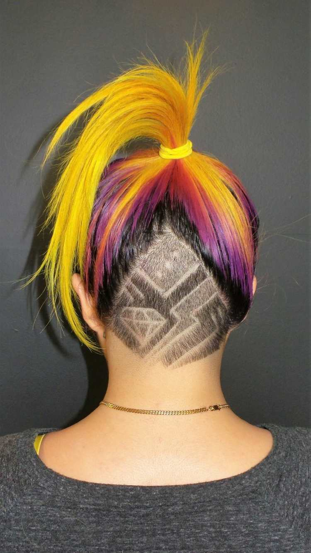 Mit Stylischen Haar Tattoos Werden Sie Garantiert Im Mittelpunkt Stehen