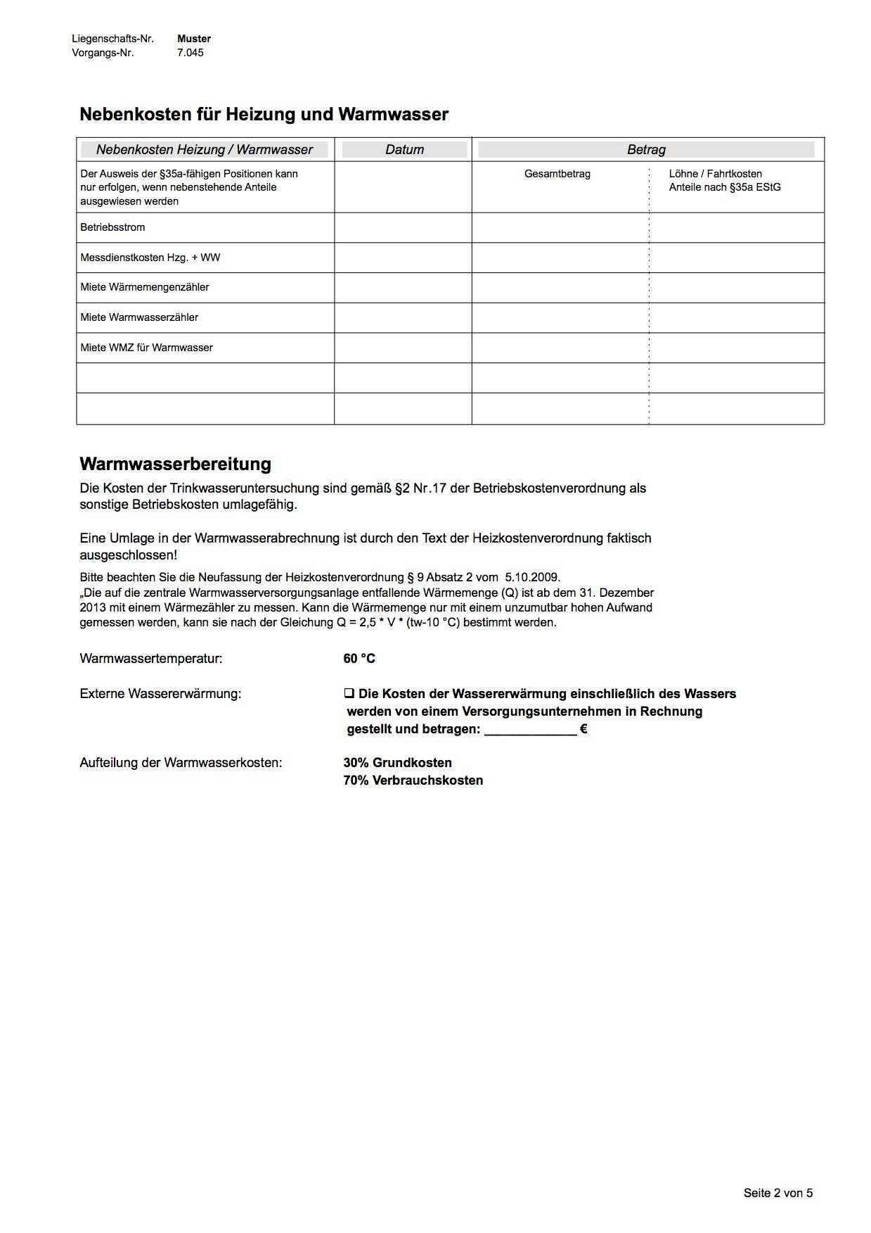 Heizkostenabrechnung Abrechnungsservice Alphamess Bochum