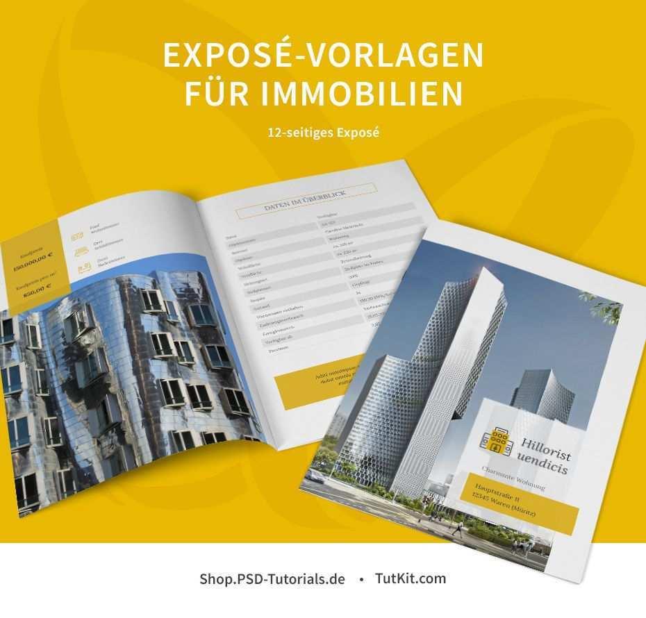 Expose Vorlagen Fur Immobilien Hauser Word Indesign Corel Powerpoint Immobilien Vorlagen Immobilienanzeigen
