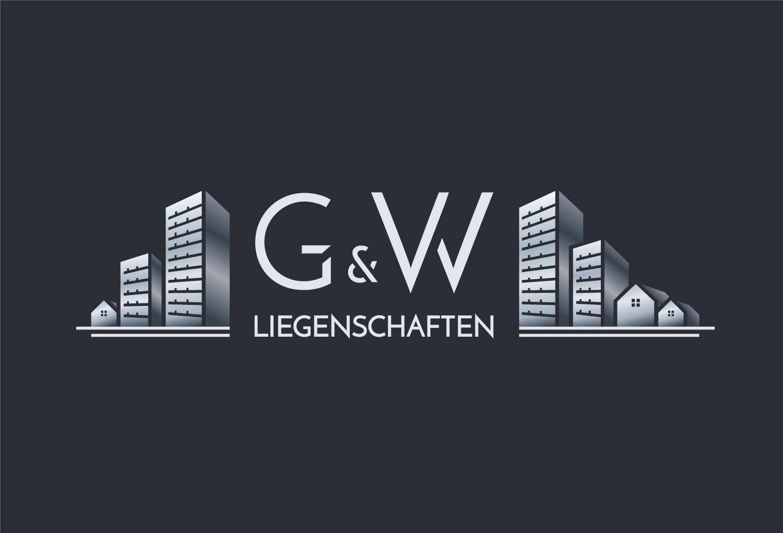 Logo Design G W Liegenschaften Berlin Immobilien Logo Real Estate Logo Immobilien Logo Liegenschaft Immobilien