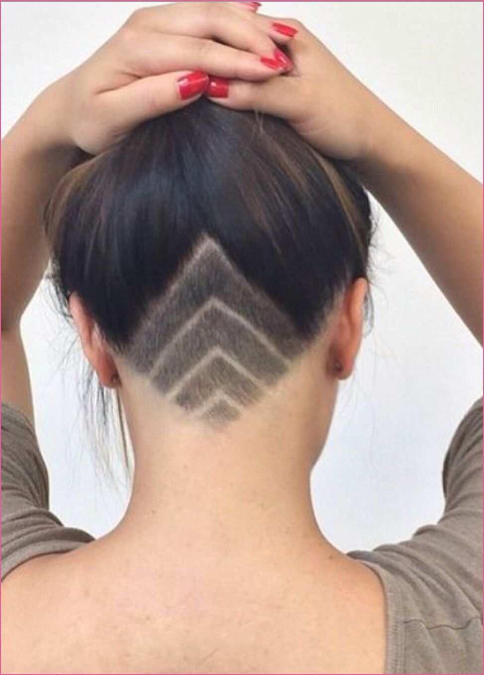 Nett Undercut Frauen Nacken Muster Undercut Frauen Lange Haare Undercut Frisuren Damen Undercut Frau