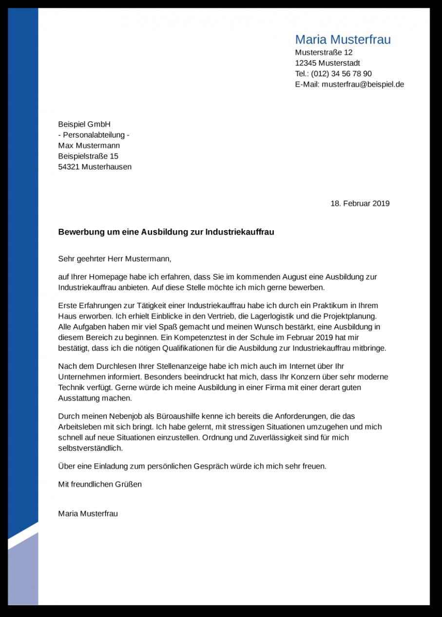 Bewerbungsschreiben Vorlage Industriekaufmann In 2020 Custom Boxes Resume Design