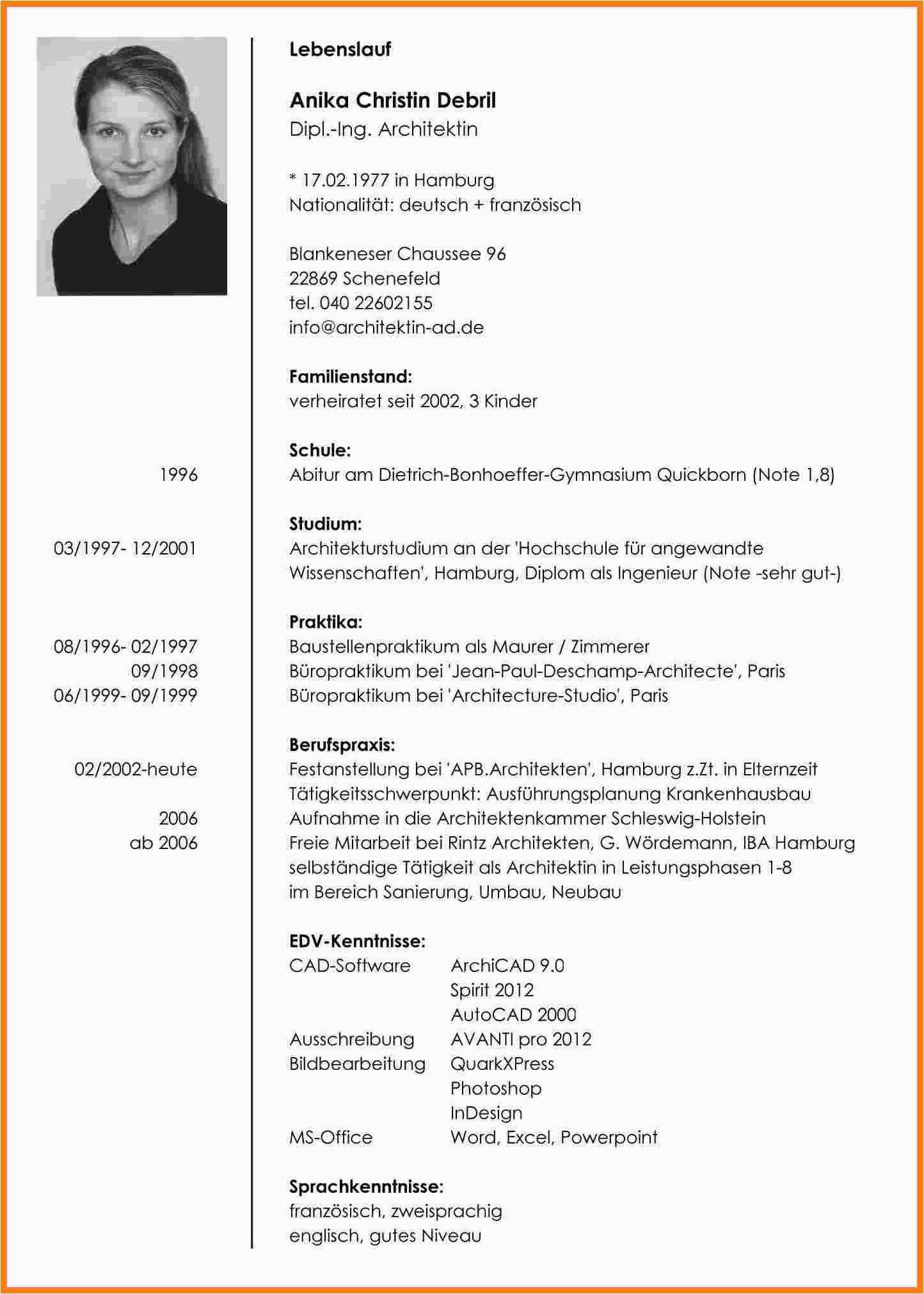 Objective Lebenslauf Deutsch Lebenslauf Vorlagen Lebenslauf Lebenslauf Beispiele