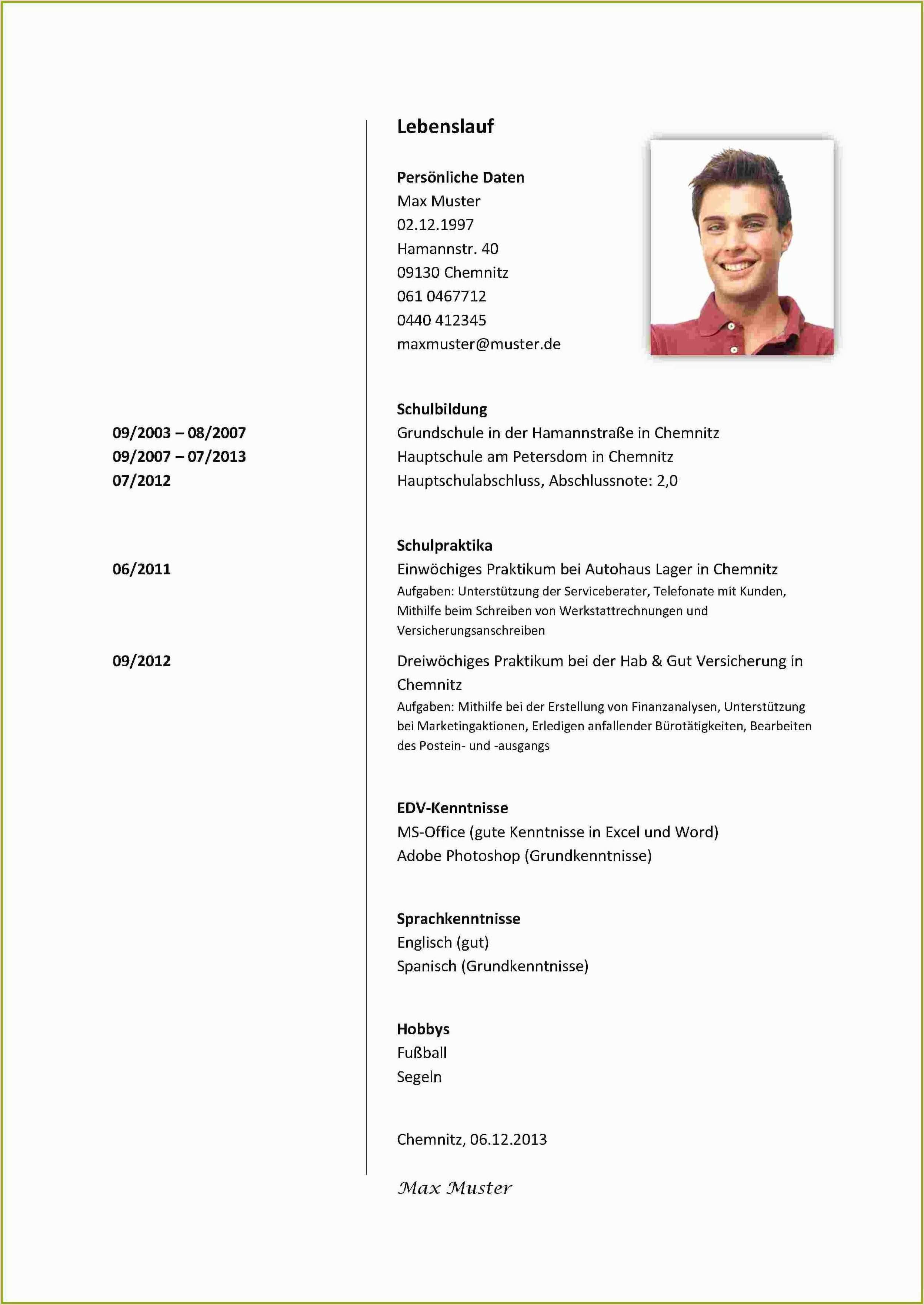 Lebenslauf Vorlage Fur Schuler Praktikum Myoscommercetemplates Com In 2020 Cv Examples Document Templates Resume Examples