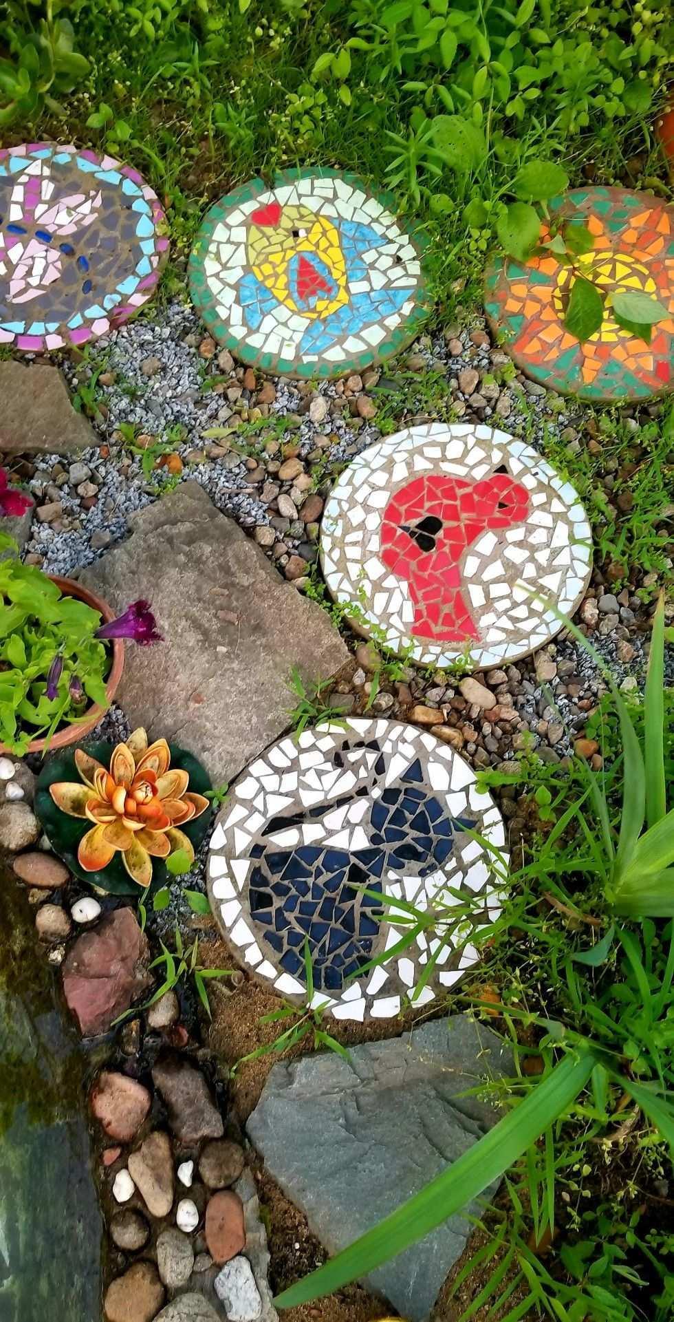 Pin Von Claudi Auf Beton Gartengestaltung Ideen Mosaik