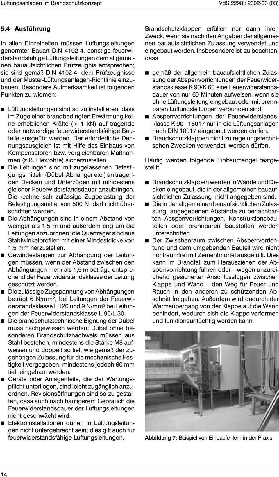 Luftungsanlagen Im Brandschutzkonzept Pdf Free Download
