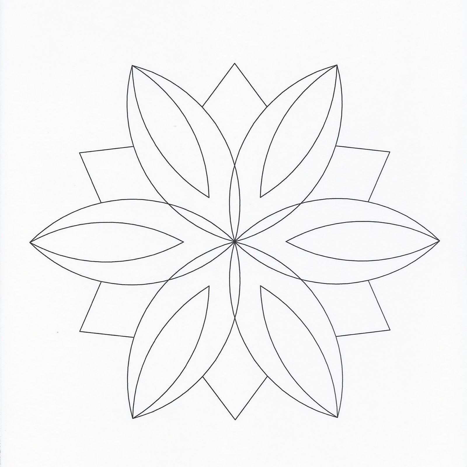 Mandala Templates Einfaches Mandala Zentangle Vorlagen Mandala Muster