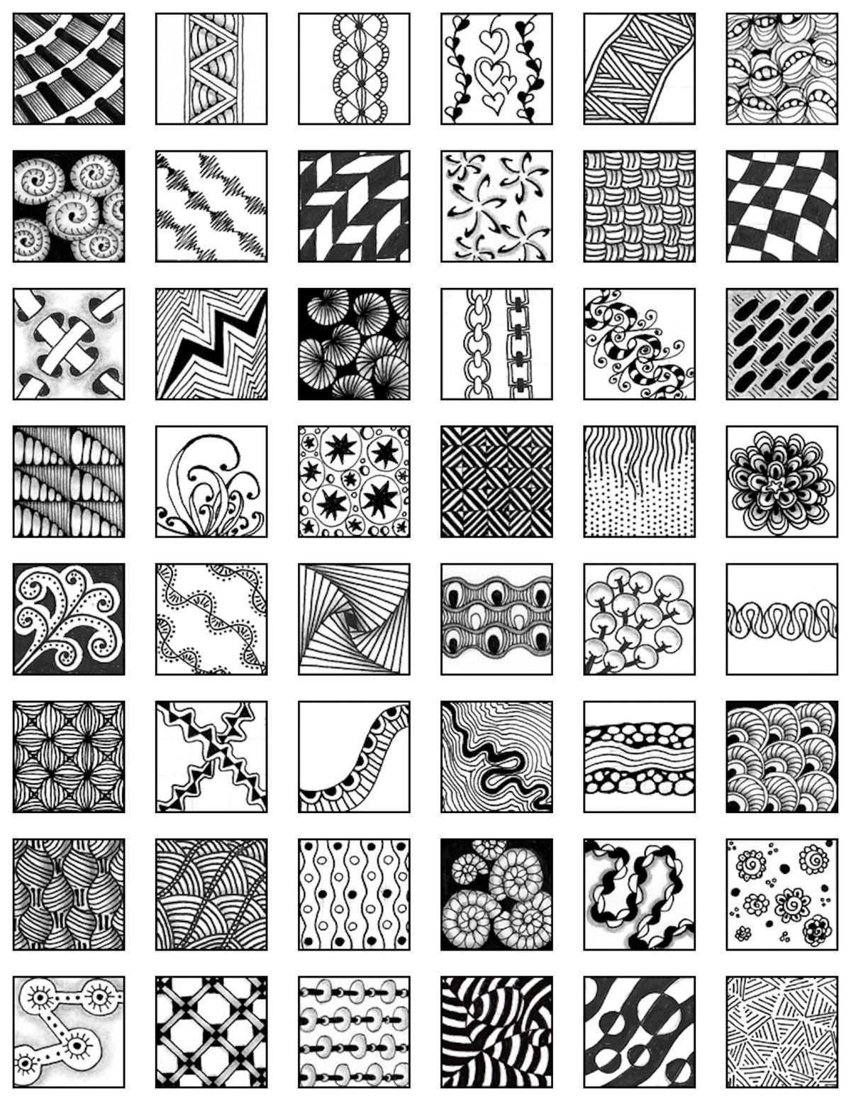 Fa50d000f802080fcd6ad2e638cecb40 Jpg 1 200 1 552 Pixeles Zentangle Kunst Muster Malen Zentangle Designs