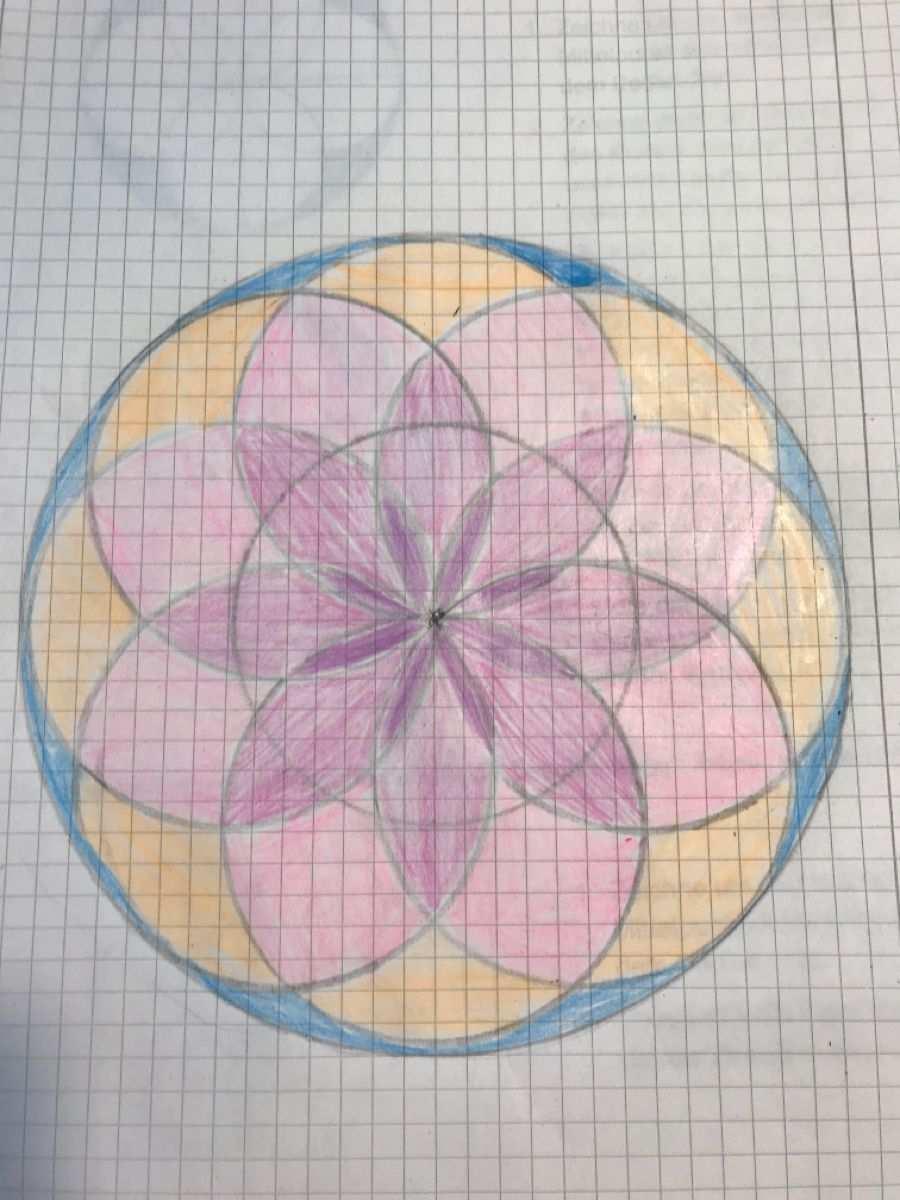 Zirkelmuster Kunst Zirkel Muster