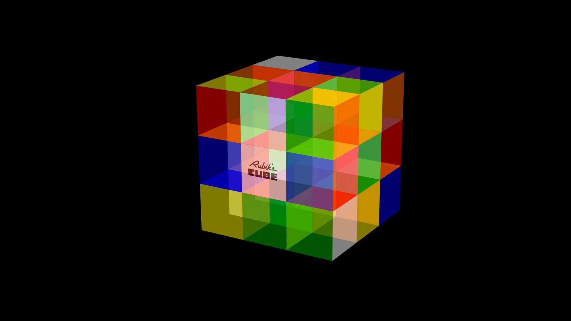 D Rubiks Cube Wallpaper Cube Desktop Wallpaper Free Hd Desktop Cube Rubiks Cube Abstract Wallpaper