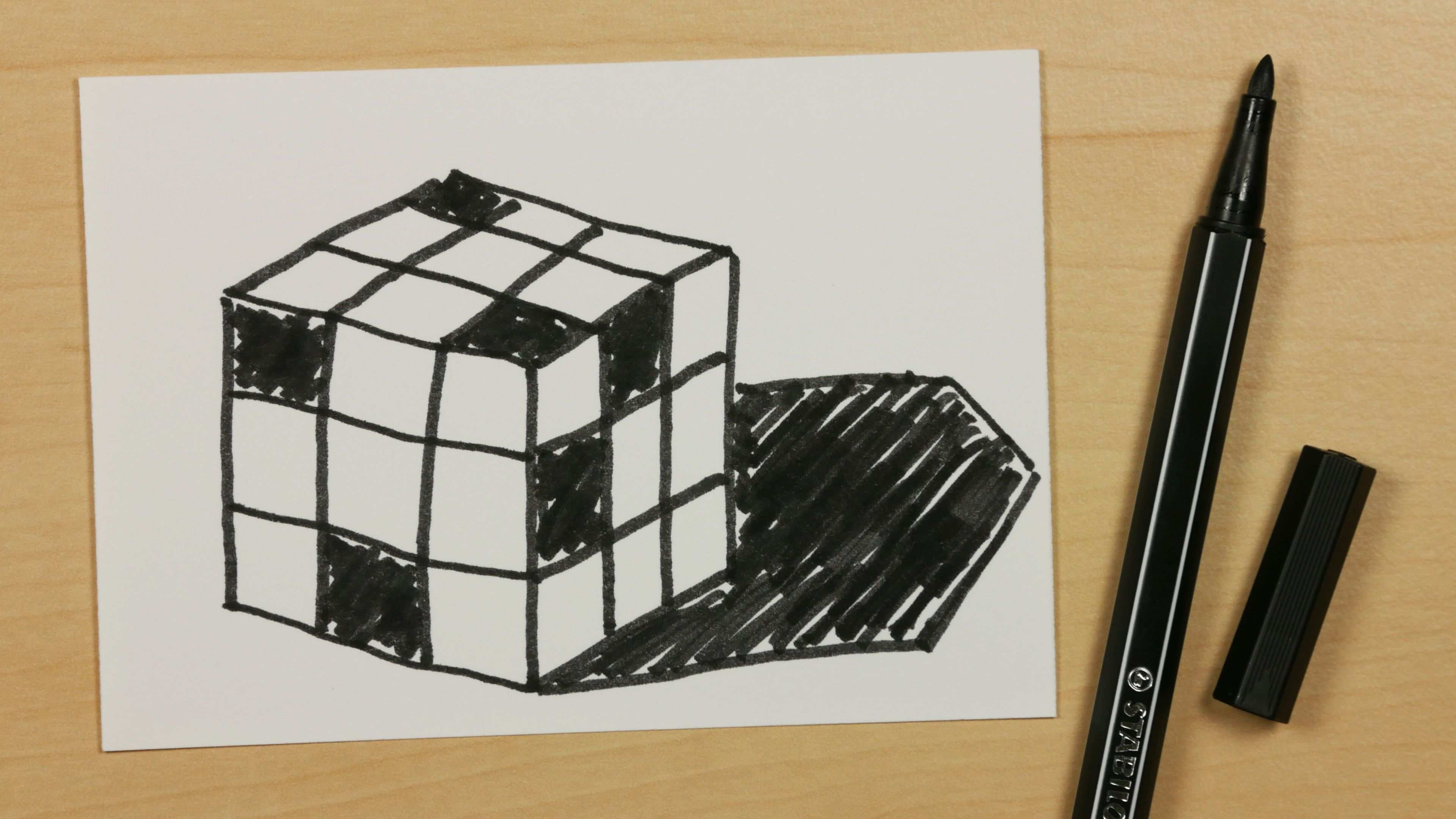 How To Draw A Rubik S Cube Easy Cartoon Doodle For Kids 86 Https Youtu Be K42zijubb7w Subscribe Https Www Youtu Simple Cartoon Rubiks Cube Doodles