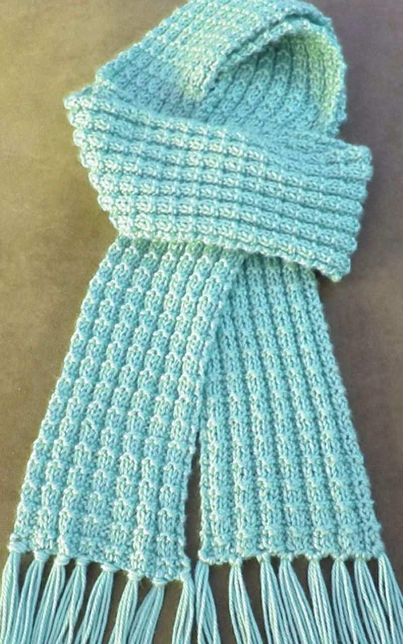 Heartwarming Knit Scarf Free Pattern Free Heartwarming Knit Pattern Scarf In 2020 Strickschalmuster Freie Strickmuster Schal Stricken
