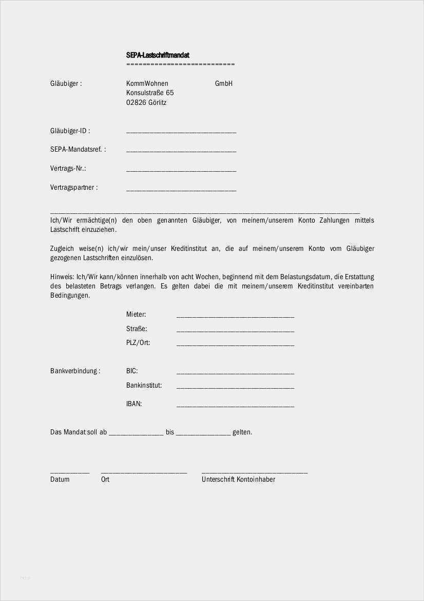38 Luxus Vorlage Fur Sepa Lastschriftmandat Bilder Vorlagen Geschenkgutschein Vorlage Indesign Vorlage