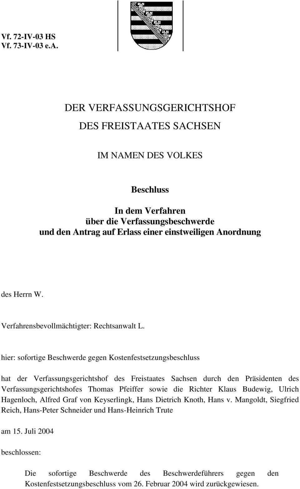 Der Verfassungsgerichtshof Des Freistaates Sachsen Pdf Free Download