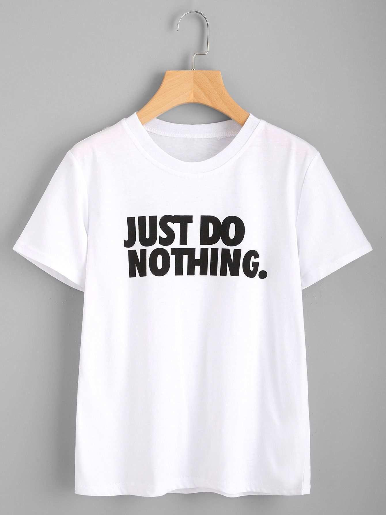 Slogan Print Tee Tumblr T Shirt Shirts Printed Tees