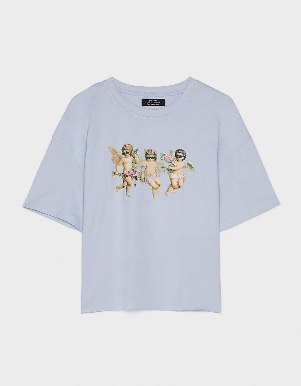 Angels T Shirt New Bershka United States Hemd Shirts T Shirt