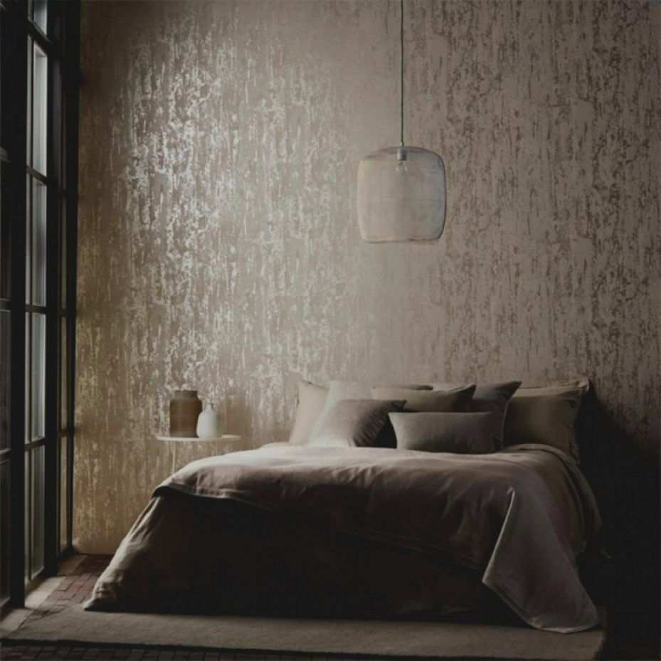 Luxus Luxurioses Und Grosses Haus Cool Muster Tapete Schlafzimmer Schlafzimmer Grau Schlafzimmer G Oboi V Spalne Dizajn Domashnego Interera Kvartirnye Idei
