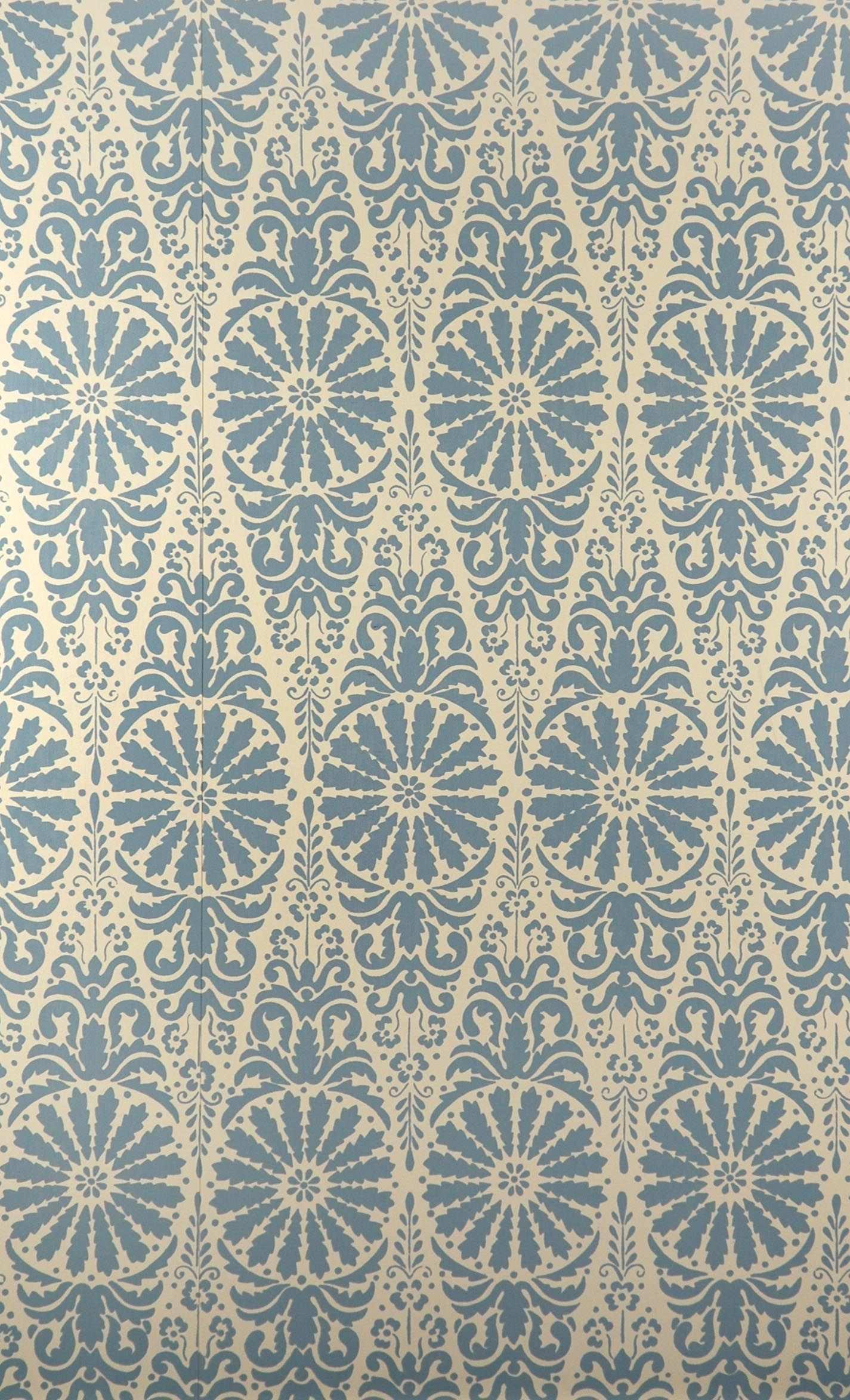 Tapete 1363 C Josephine Blau Historische Tapeten Hembus Gmbh Tapeten Farben Und Tapeten Mustertapete