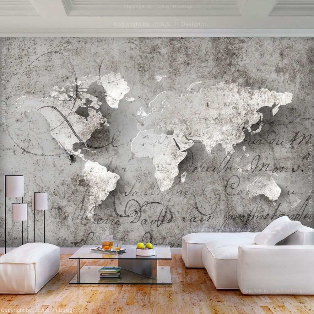 Vlies Fototapete Weltkarte Grau Landkarte Beton Tapete Wandbilder Xxl Wohnzimmer Ebay Fototapete Wohnzimmer Wandtapete Wohnzimmer Tapeten Ideen