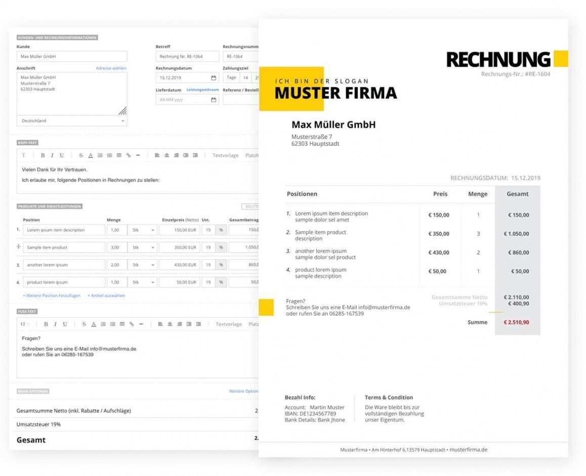 Scrollen Unsere Druckbar Von Rechnungsvorlage Ferienwohnung Rechnungsvorlage Rechnung Vorlage Rechnung