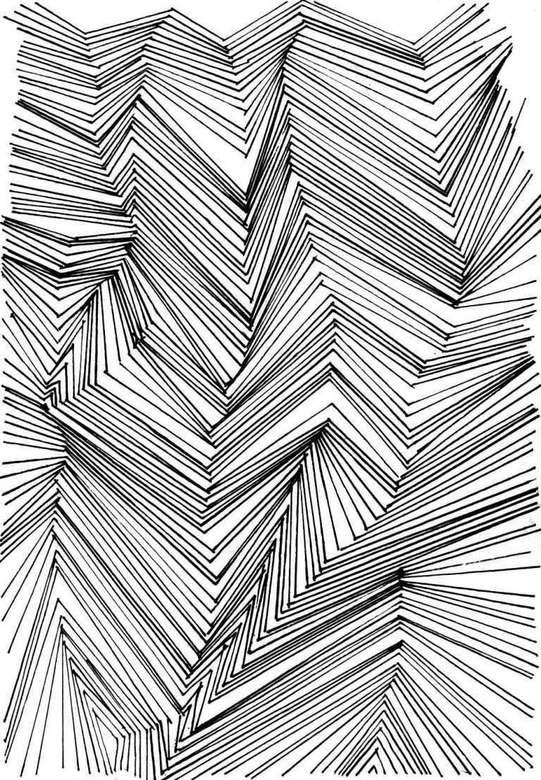 Muster Zeichnen Ist Langweilig Seht Ihr Das Auch So Erfahrt Wieso Das Doch Nicht So Sein Muss Sondern Monochrome Prints Monochrome Pattern Aesthetic Drawing