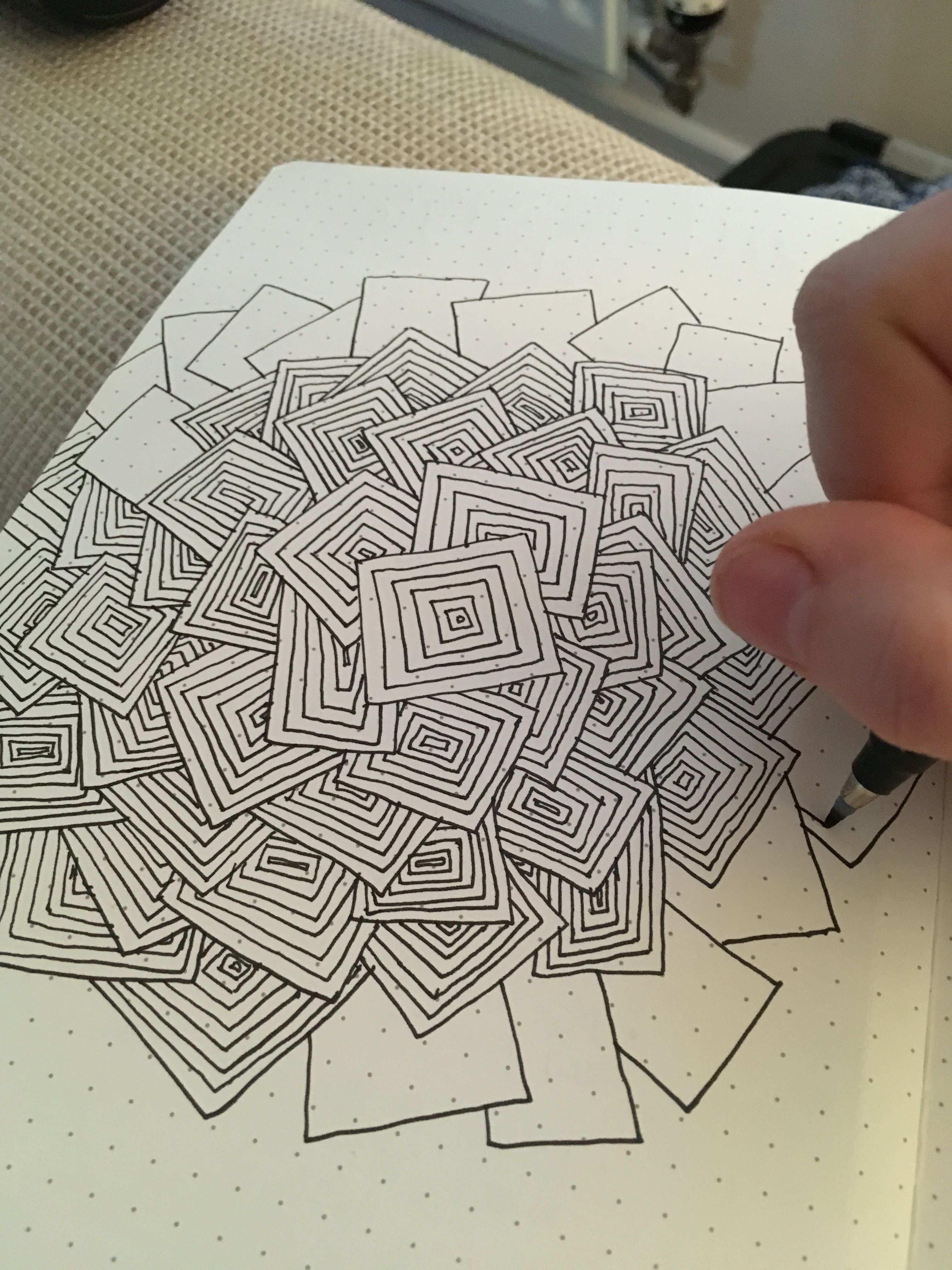 Bullet Journal Doodles Designs Zeichnen Muster Malen Zeichnen