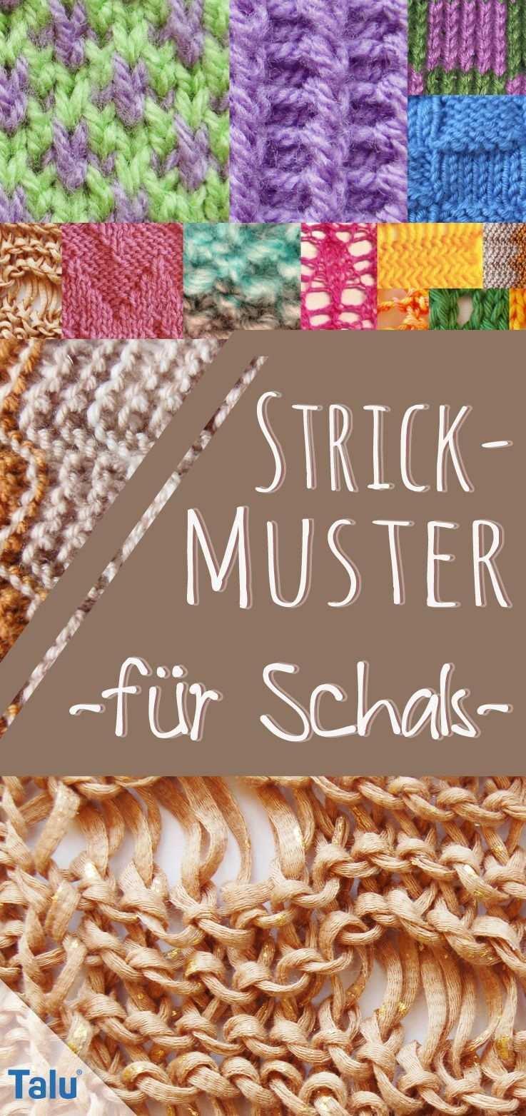 Strickmuster Fur Schals 10 Kostenlose Muster Strickenundnahen Passende Stric In 2020 Schal Stricken Muster Strickmuster Strickmuster Schal Stricken