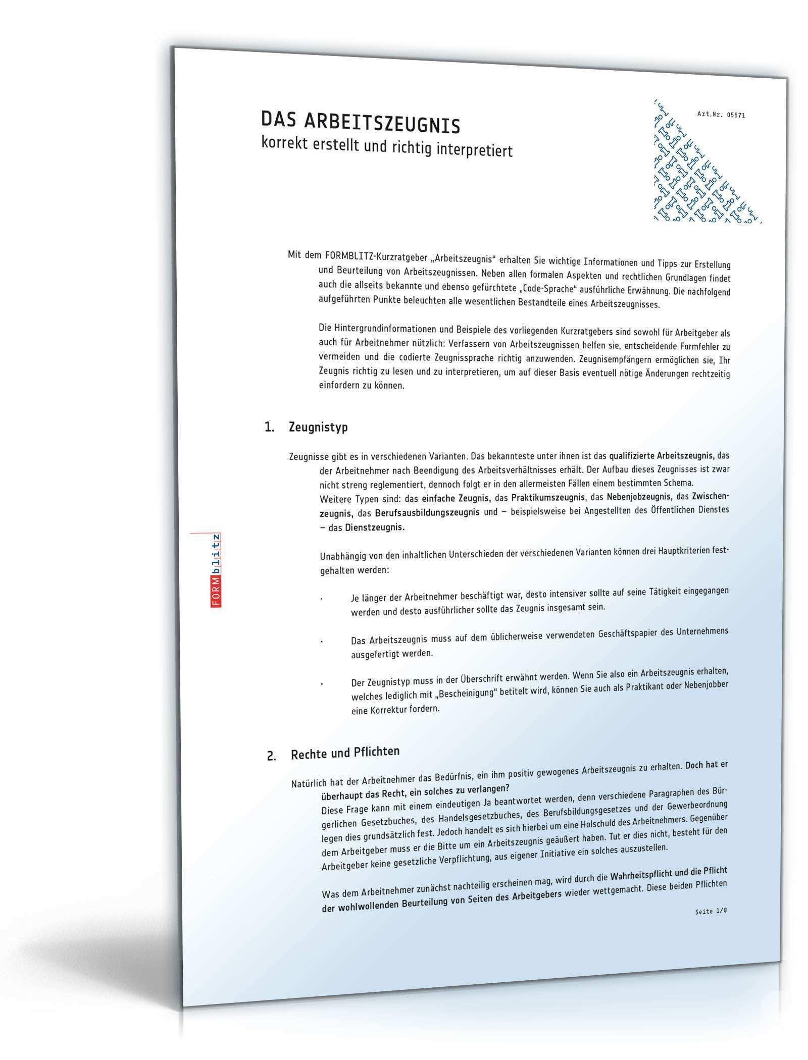 Arbeitszeugnis Bauingenieur Muster Zum Sofort Download
