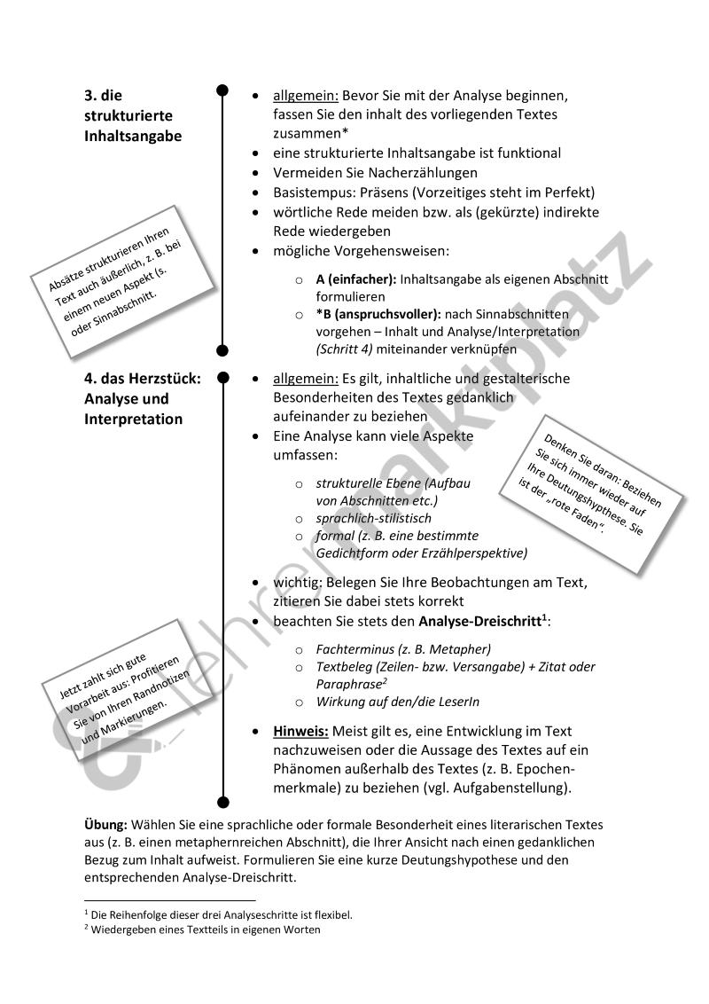 Analyse Und Interpretation Leitfaden Fur Alle Literarischen Texte Kurzgeschichte Gedicht Etc Word Pdf Mit Lernen Tipps Schule Kurzgeschichten Lernen