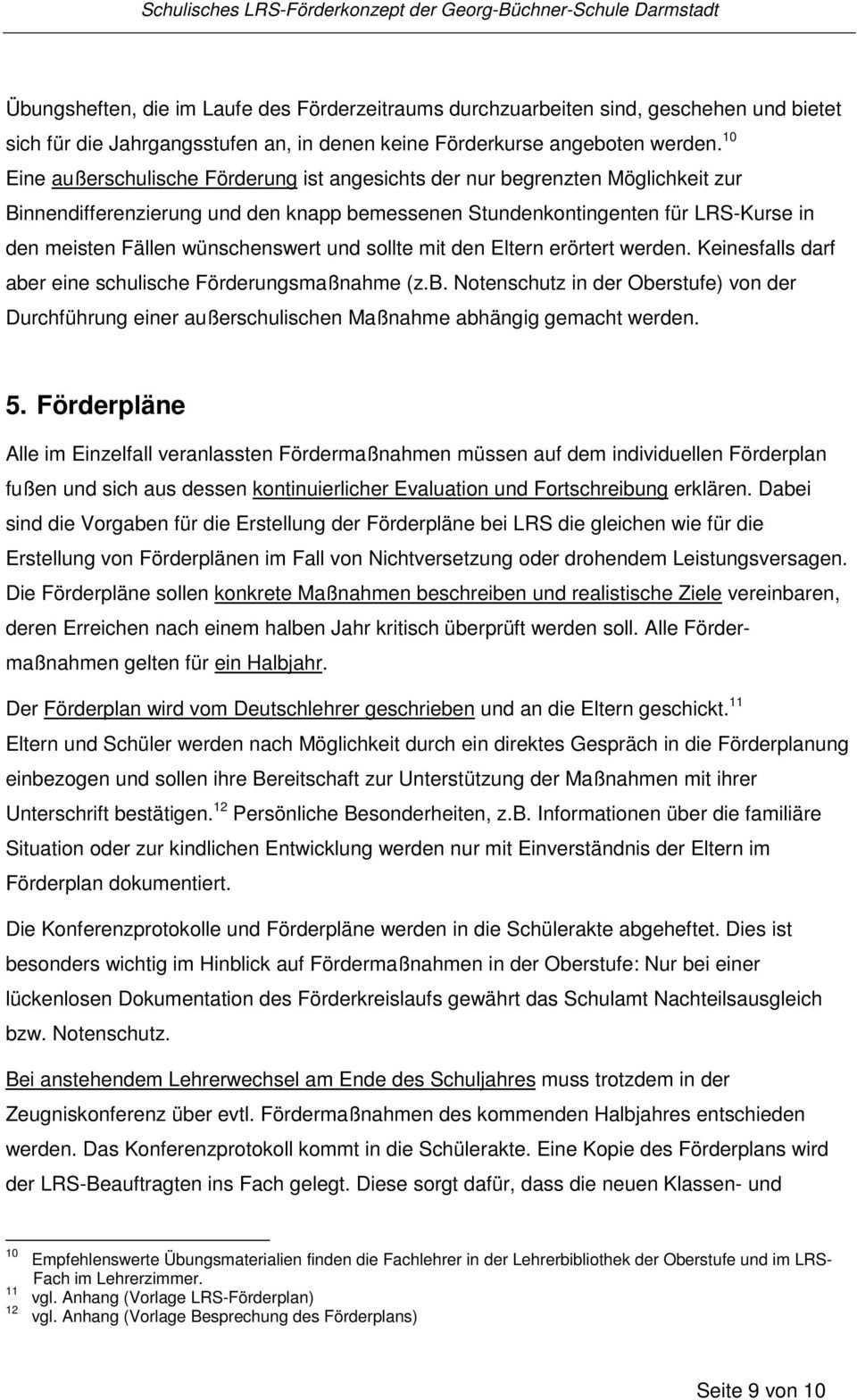 Schulisches Lrs Forderkonzept Pdf Free Download