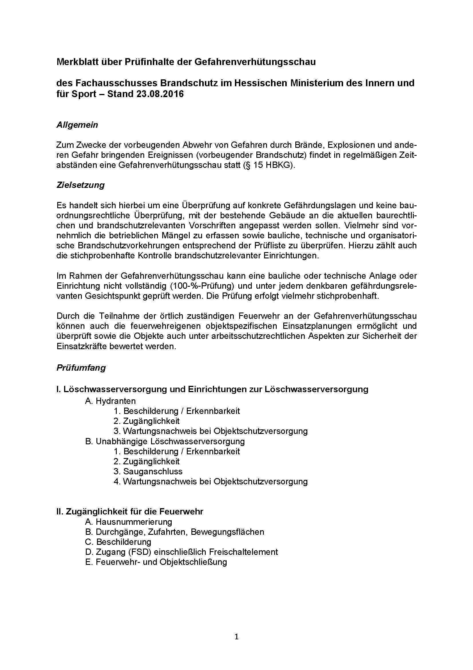 Vorbeugender Brandschutz Landesfeuerwehrverband Hessen