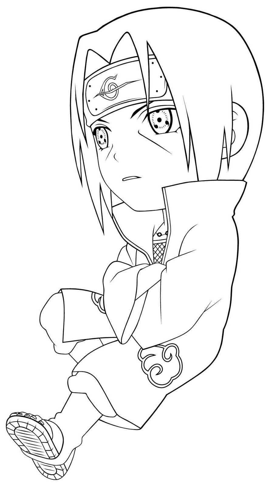 Cool Naruto Sasuke Ausmalbilder Zum Ausdrucken Ausmalbilderring Com Naruto Drawings Ausmalbilder Ausmalen