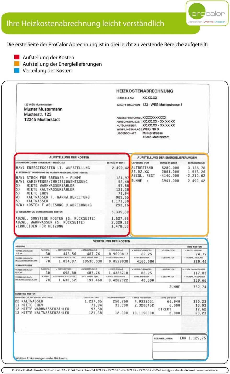 Ihre Heizkostenabrechnung Leicht Verstandlich Pdf Kostenfreier Download