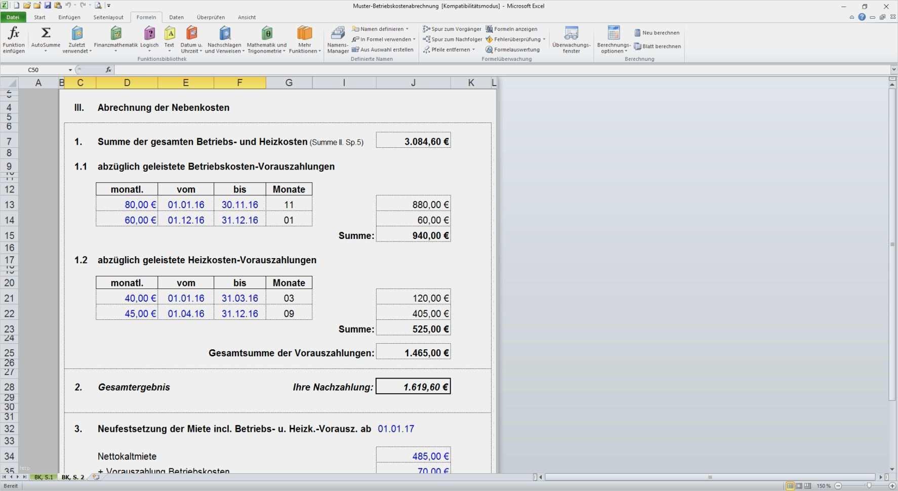 34 Elegant Excel Vorlage Betriebskostenabrechnung Bilder Excel Vorlage Vorlagen Betriebskostenabrechnung
