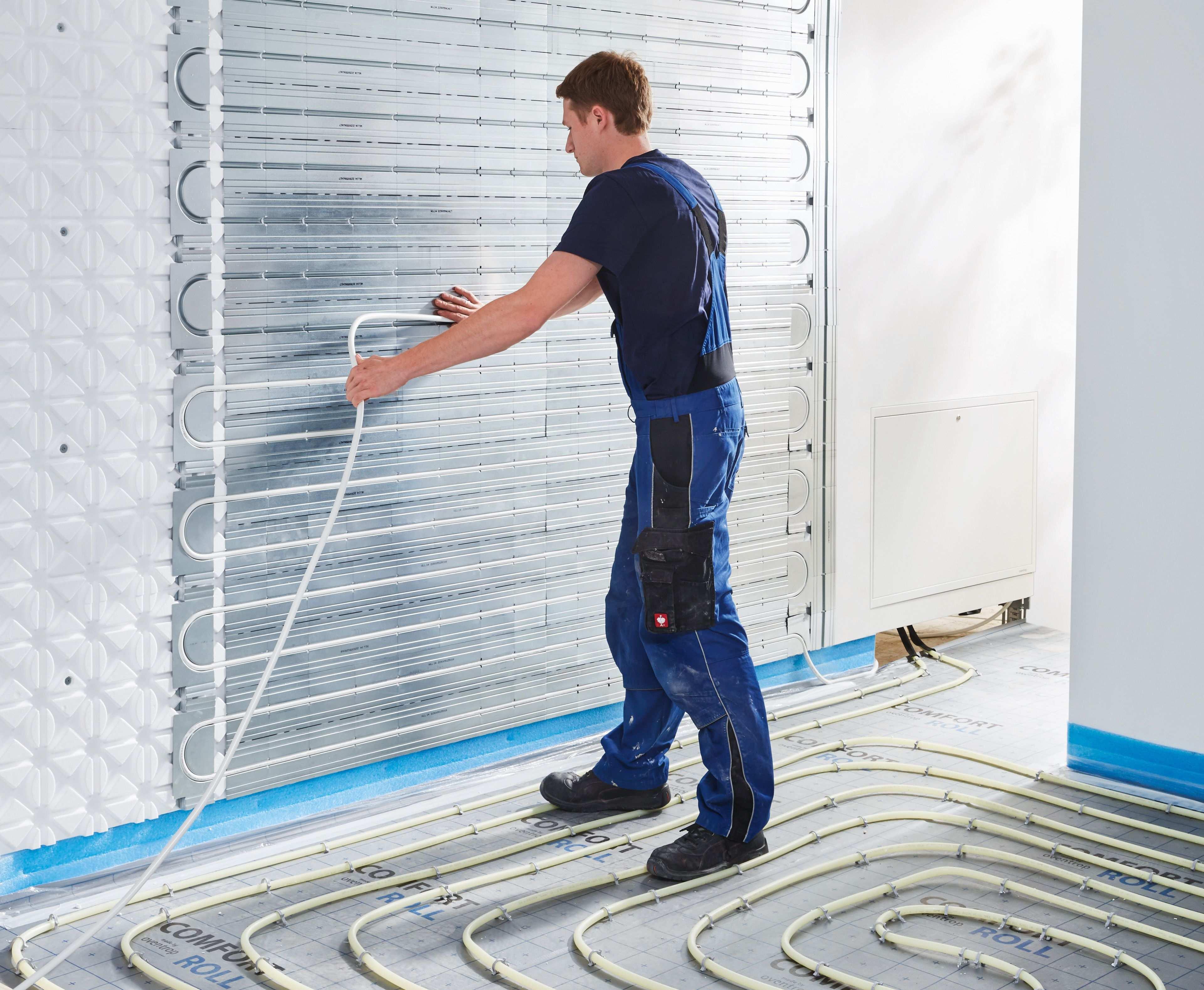 Sanibel Comfort Roll Optimierte Flachenwarme Und Kuhlung Wandheizung Haustechnik Heizkosten Sparen