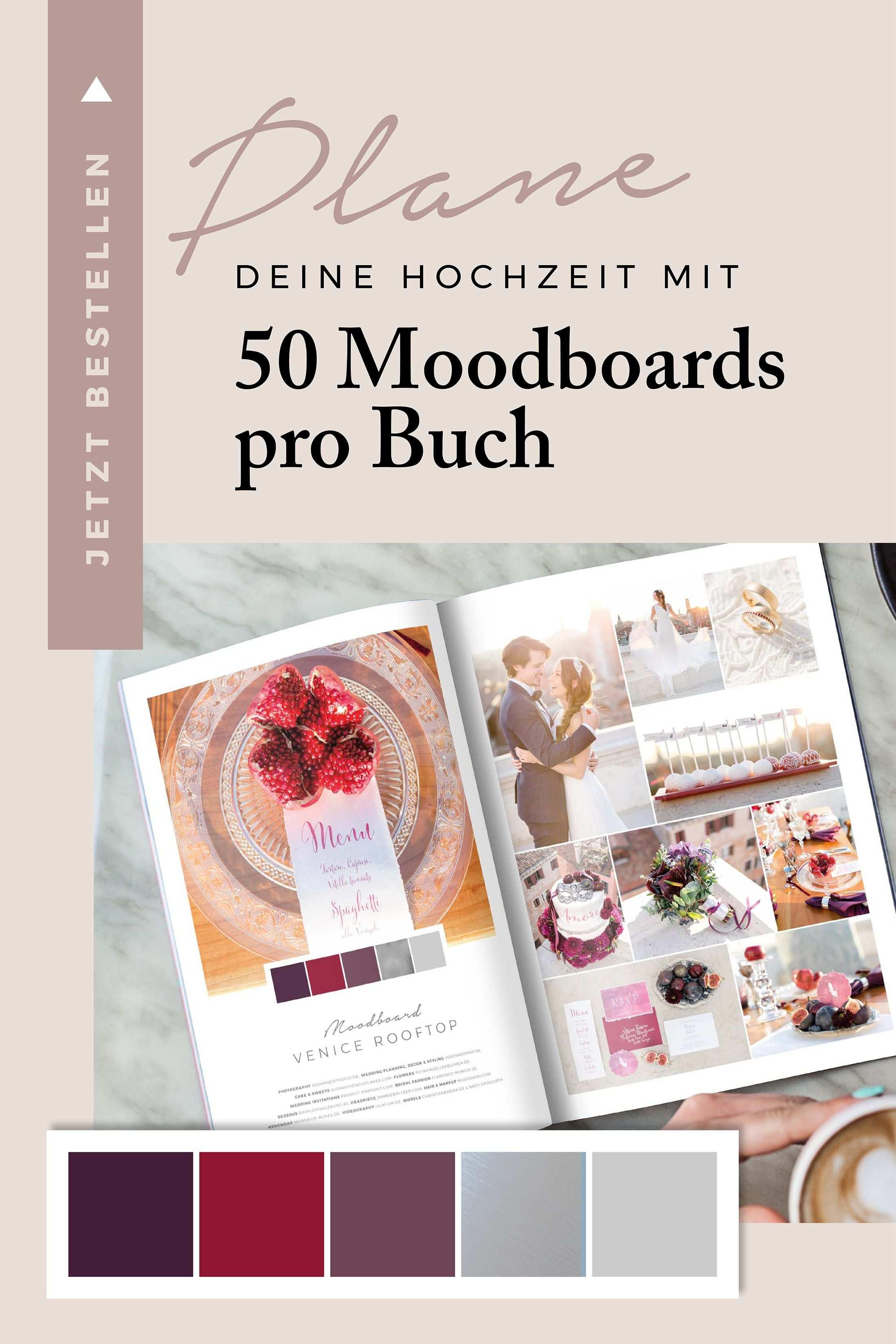 Plane Deine Hochzeit Mit 50 Moodboards In 2020 Hochzeitsbuch Hochzeit Hochzeitseinladung