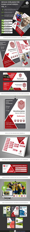 Design Vorlagen Fur Vereine U A Bannerwerbung Spendenscheck Banner Werbung Flyer Vorlage Sportverein