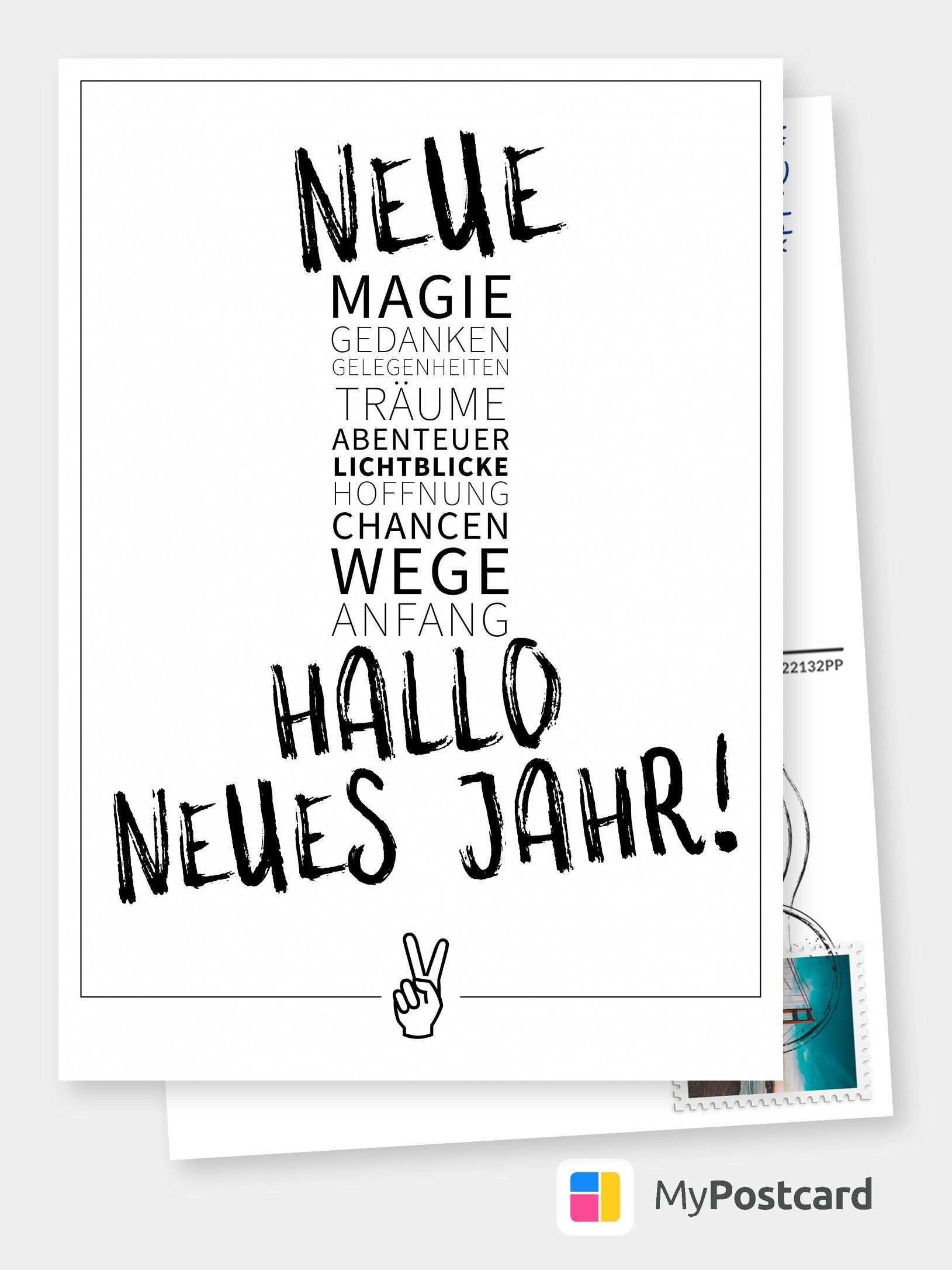 Neujahrswunsche Neue Magie Frohes Neues Jahr 2021 Echte Postkarten Online Versenden Neujahrswunsche Spruche Frohes Neues Jahr Lustig Lustiges Neues Jahr