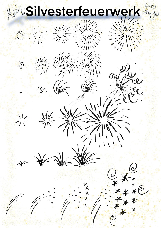 Silvester Feuerwerk Und Raketen Zeichnen Unterrichtsmaterial In Den Fachern Fachubergreifendes Kunst Feuerwerk Kunst Grundschule Silvester Feuerwerk Feuerwerk Zeichnung