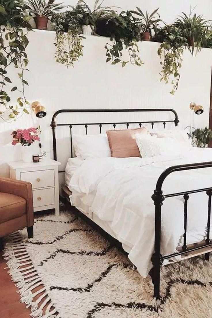 Schlafzimmerideen Super Ausgezeichnet Aber Charmante Wohnkultur Beispiele Fur Keinen Aufwand In Chic Bedroom Decor Boho Bedroom Diy Boho Chic Bedroom