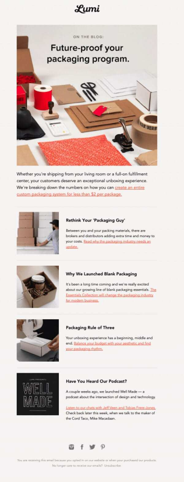 50 Smart Effective Newsletter Examples Sharethis