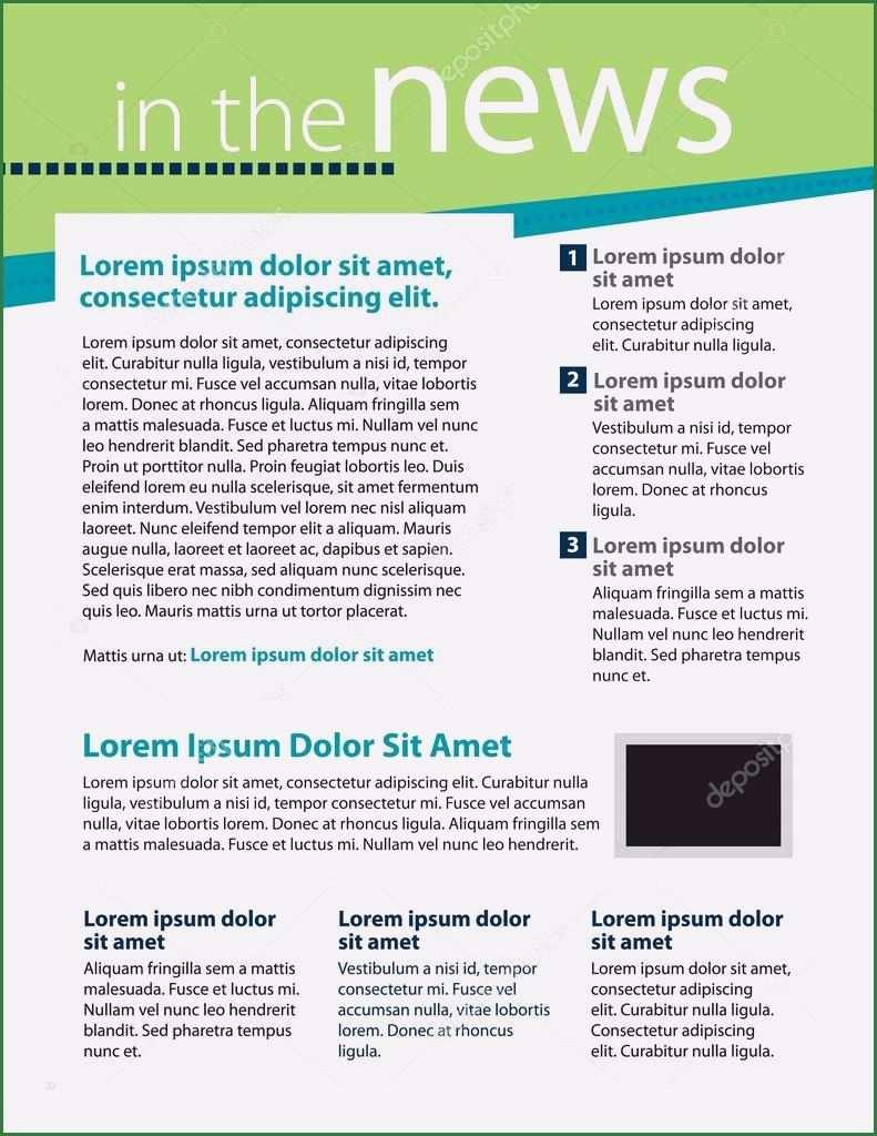 30 Schonste Newsletter Beispiele Vorlagen Vorrate Briefkopf Vorlage Vorlagen Lebenslauf Layout