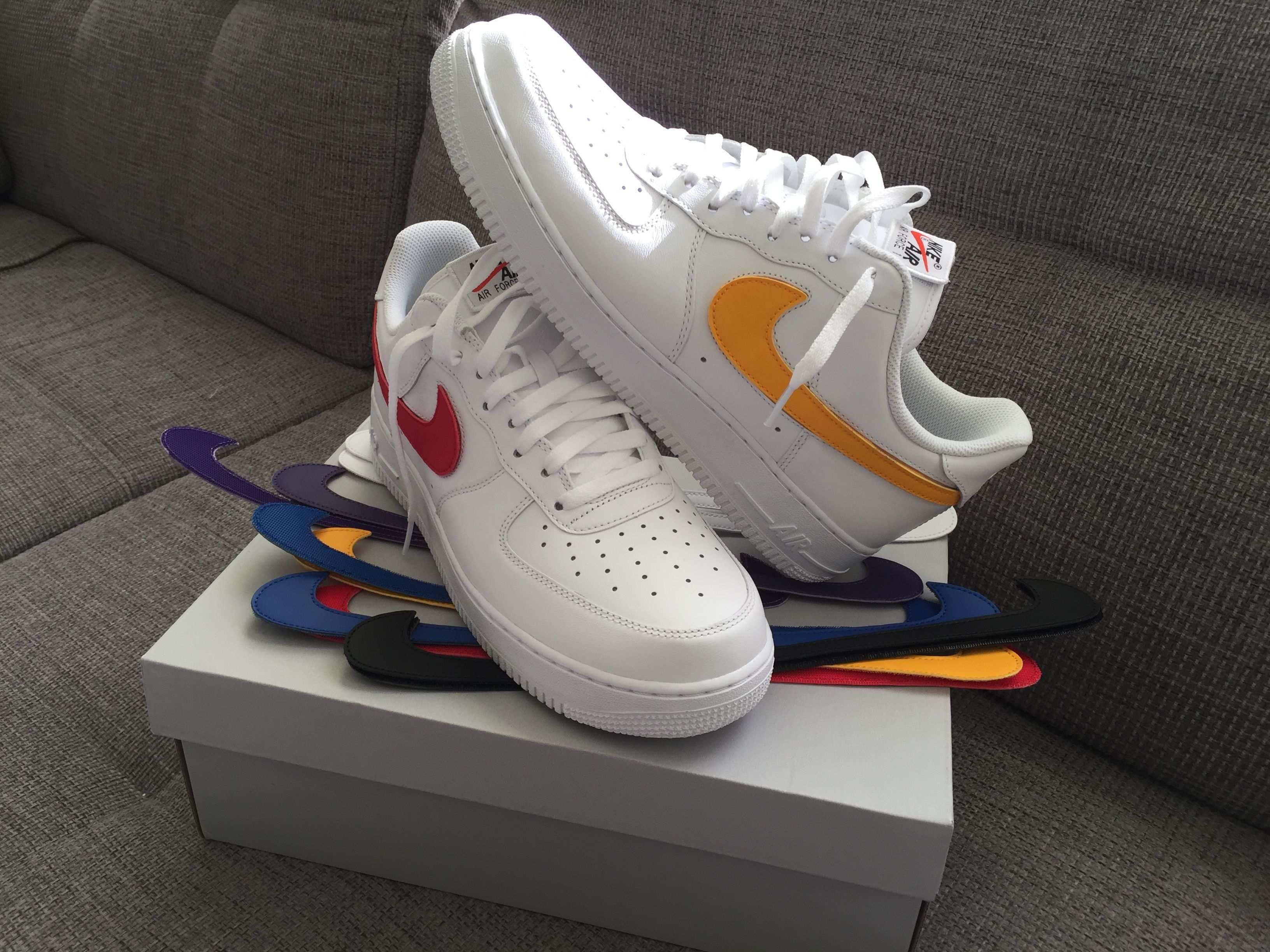 Nike Airforce1 Swooshpack Turnschuhe Nike Nike Basketball Schuhe Nike Air Force Ones