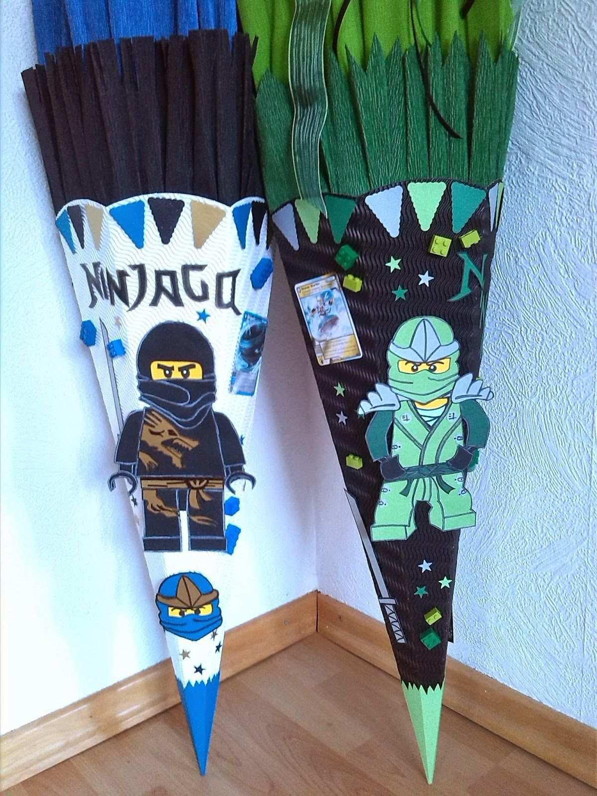 Schultute Lego Ninjago Vorlagen Schlange Schultute Selber Basteln Ninjago Schultute Schultute Basteln