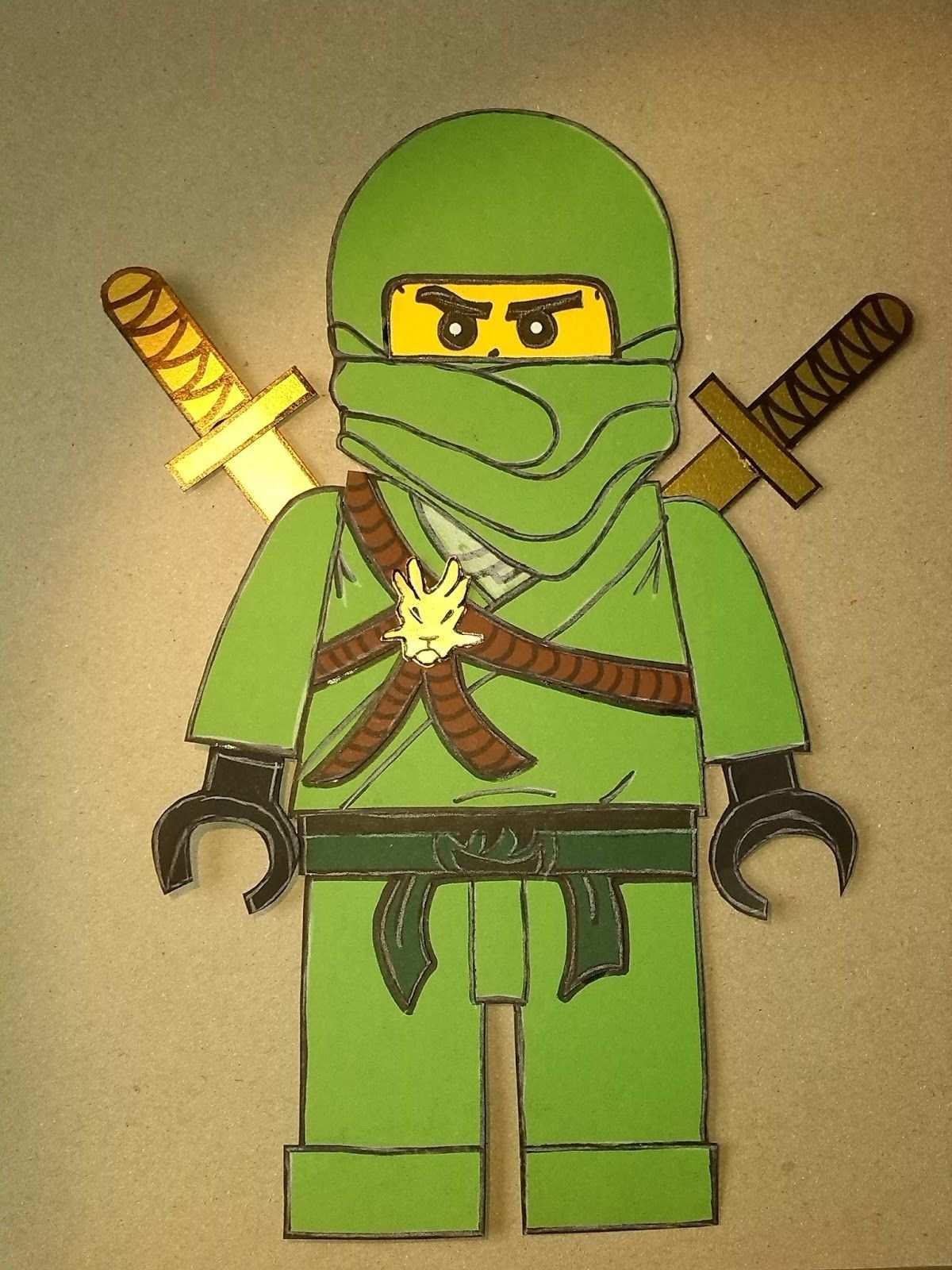 Ein Bastel Set Fur Ninjago Schultuten Ninjago Schultute Schultute Basteln Schultute