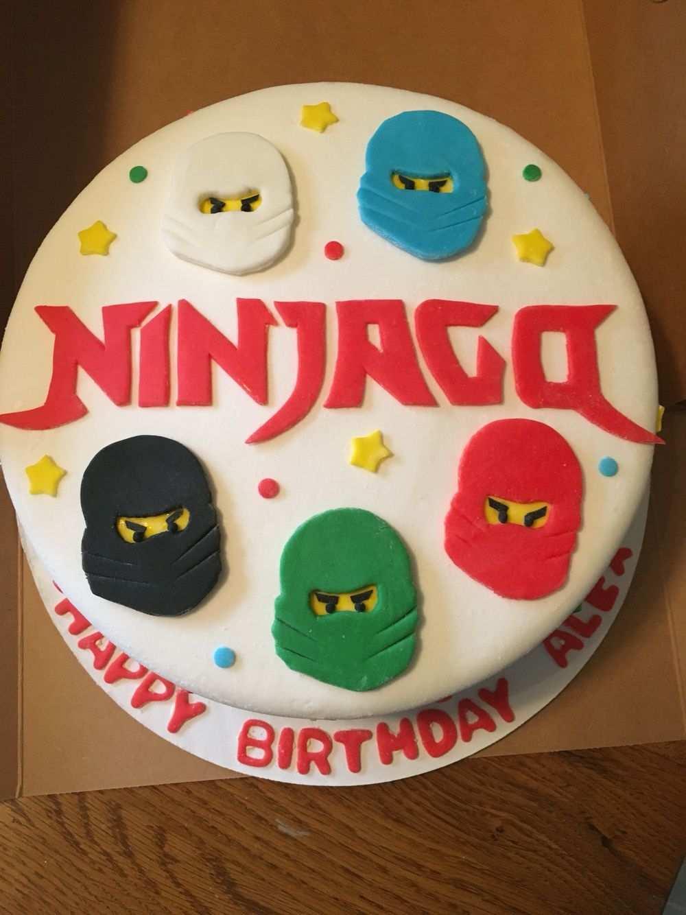 Ninjago Birthday Cake Kuchen Geburtstag Geburtstagstorte Torte Kindergeburtstag Junge