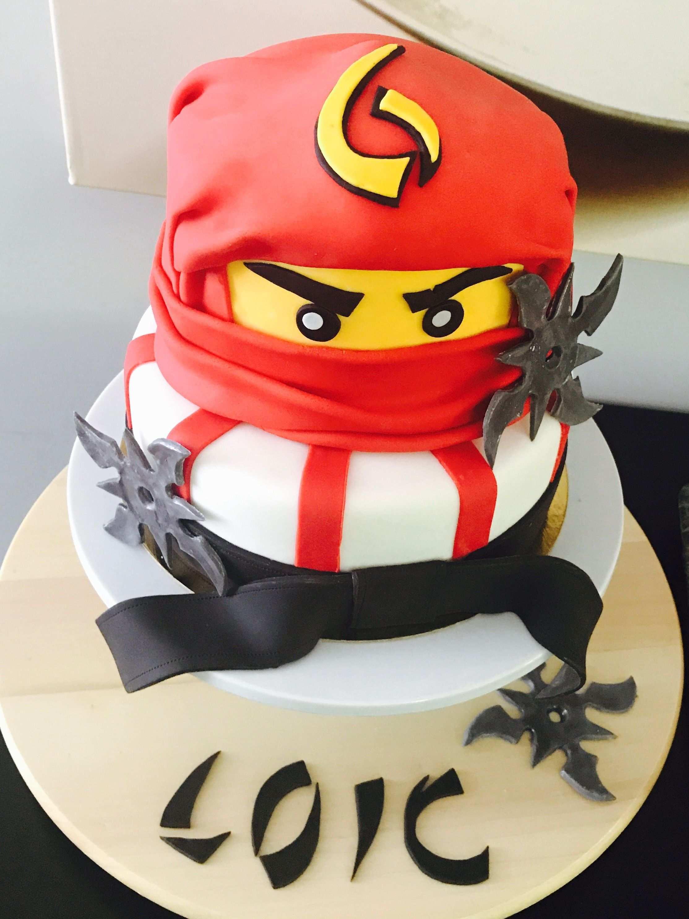 Ninjago Cake Ninja Geburtstagskuchen Ninjago Kuchen Lego Ninjago Kuchen